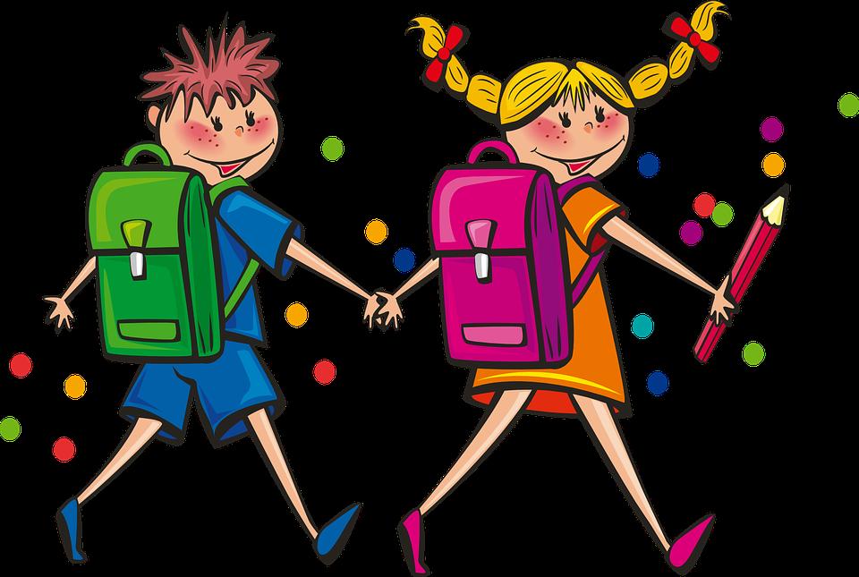 Náš první školní den - Prvňáček 2020